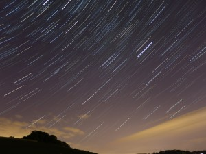 aastrophotography star trail
