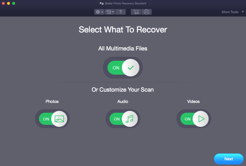 Stellar Photo Recovery Mac screenshot